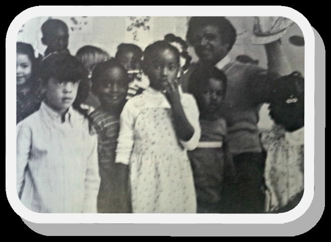 Photo Of Children Involved In 1980 Programs